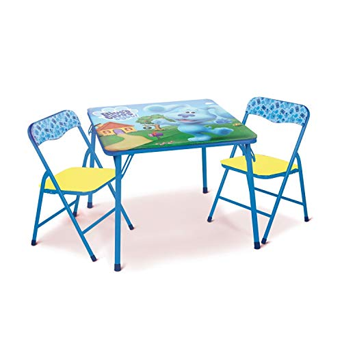 Blues Clues Activity Table Set with 2 Chairs