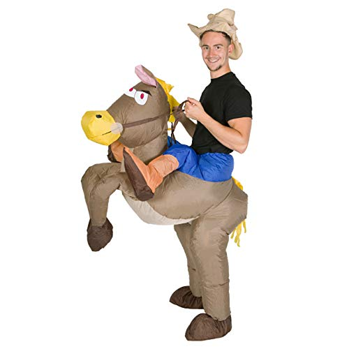 Bodysocks® Inflatable Cowboy Costume (Adult)