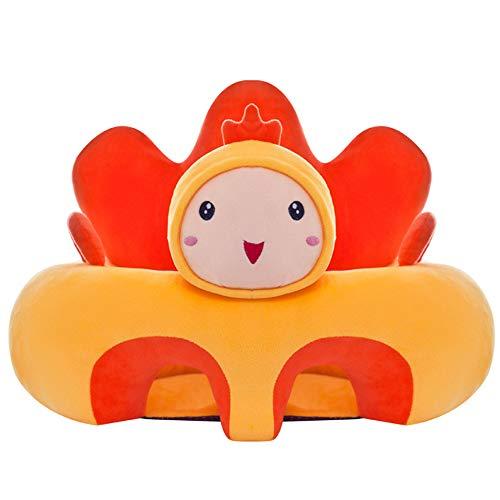 Pannow Baby Sofa stoel baby ondersteuning stoel leren zitten voor kussen stoel kussen bouncer voeding kussens geschikt voor 3-16 maanden zuigelingen 50cm Doll