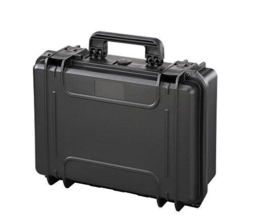 COP PPMAX430B Hartschalenkoffer Modell MAX 430S (19 Liter), schwarz