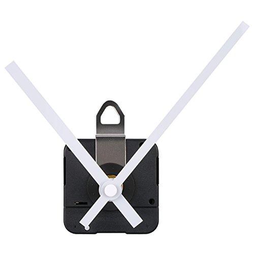Mudder 31 mm Lang Shaft Quarz Uhrwerk DIY Uhr Reparatursatz (Weiß)