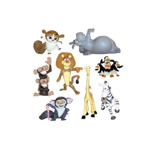 TINY Madagascar Escape 2 Africa Mini Figures