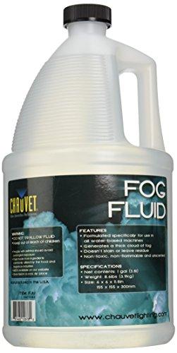 CHAUVET DJ FJ-U Fog Fluid, 1 Gallon, CLEAR 1-Gallon (Packaging May Vary)