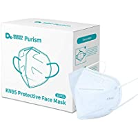 20-Pack Purism KN95 Disposable 5-Layer Protective Face Mask
