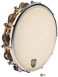 """CP391 10"""" Tunable Tambourine, Wood"""