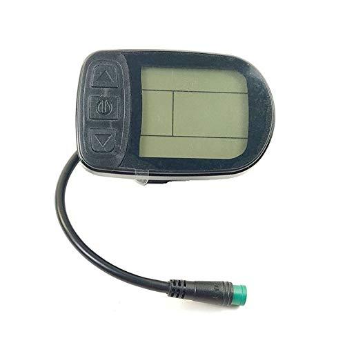 WOVELOT KT LCD5 E-Bike Medidor de Pantalla LED Kunteng KT Pantalla de Panel de Control Inteligente una Prueba de Agua Bicicleta EléCtrica 24V 36V 48V