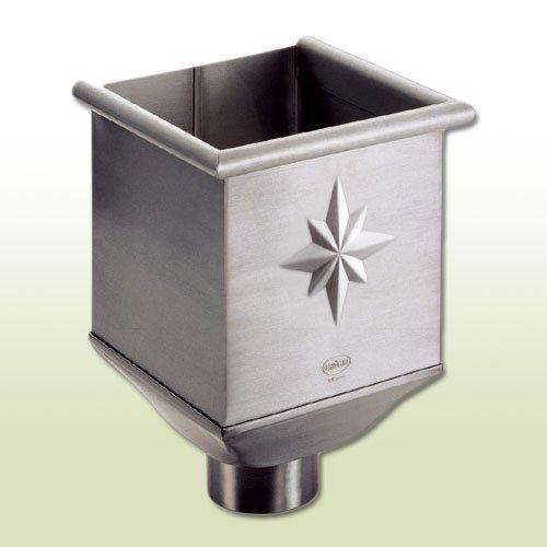 Zink Rinnenkasten Wasserfangkasten für Fallrohr DN 100