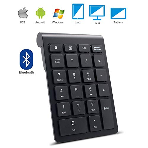 Bluetooth Numeric Keypad