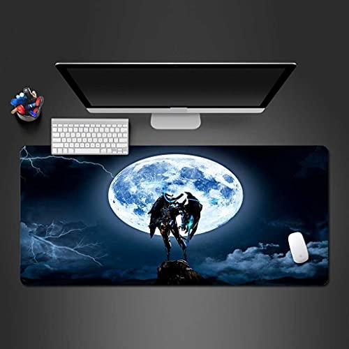 NZTCRFP Alfombrilla De Ratón De Gran Lightning Planet Super Guerrero 800X300MM Mouse Pad Gaming XL - Precisión Y Velocidad En Juegos - Antideslizante, Resistente Al Agua - para Ratón Y Teclado