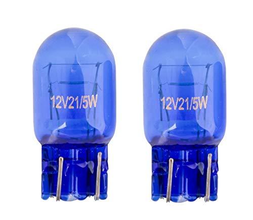 2x St. T20 W21/5W W3x16d 21/5W 12V SUPER WHITE Glühlampe Soffitte Autolampen