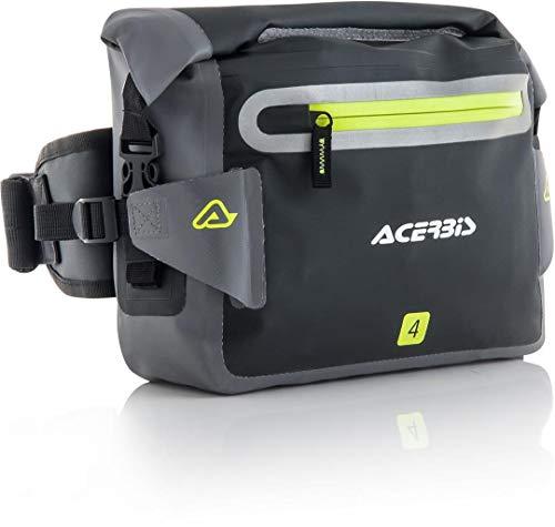 Acerbis 0022858.319 Marsupio Stagno Moto No Waterproof 4L Nero Grigio