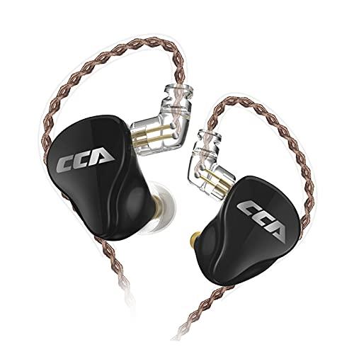 Studio-oortelefoon, hifi-oortelefoon met oordopjes, geluidsreducerende hybride oordopjes met afneembare kabel voor…