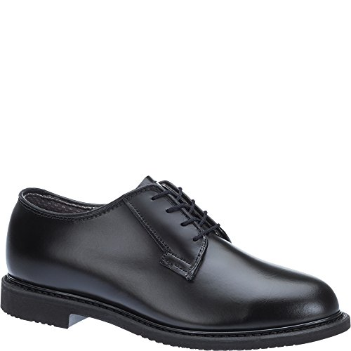 Bates Women's Lites Balck Oxford Shoes Round Toe Black 8 M