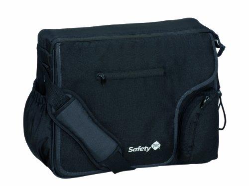 Safety 1st 16339600 - Mod'Bag, praktische Wickeltasche, mit vielen Fächern und Wickelunterlage, schwarz