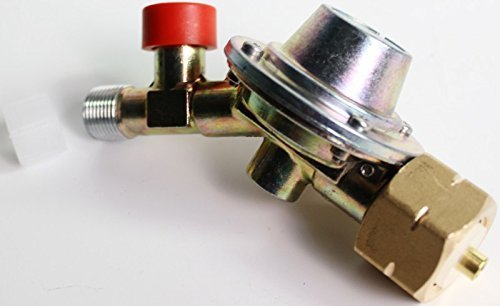Druckminderer Druckregler Schlauchbruchsicherung Propan Gas 4 Bar Gasflasche 11