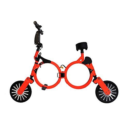 NEOFOLD Bicicletta elettrica Pieghevole con Batteria Ricaricabile al Litio 48V, Scooter Elettrico, 20 km/h