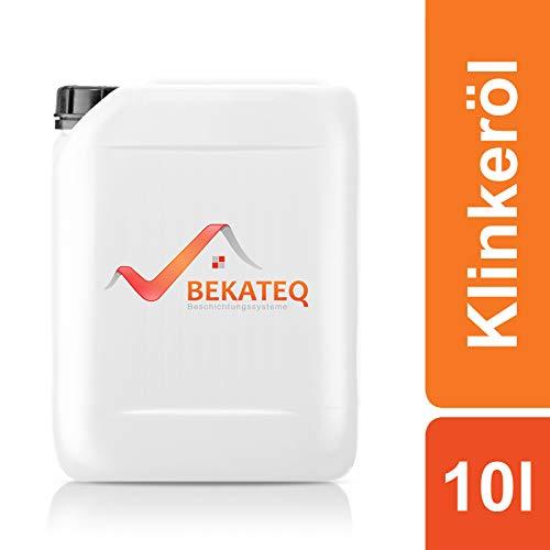 BEKATEQ Klinkeröl BE-290 Keramiköl Natursteinöl Versiegelung - 10L
