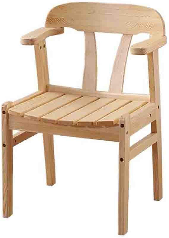 QZ HOME Chair Armchair Pine Office Chair Dining Chair Comfortable Cushion Fabric Modern Leisure