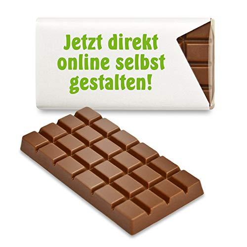 Schokoladena 48 St. Schokotäfelchen - Jetzt einfach online gestalten für Geburtstag, Hochzeit, Grillparty, ... (Vollmilch)