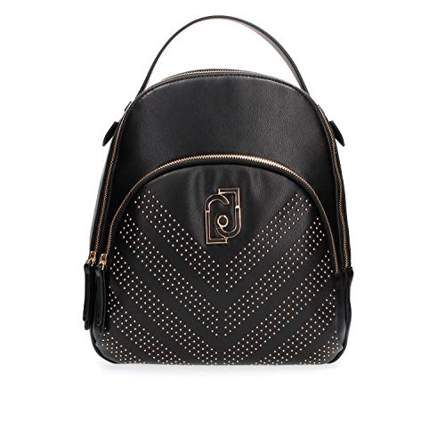 ZAINO LIU-JO BACKPACK M IN ECOPELLE NAPPA NERO DONNA B20LJ12