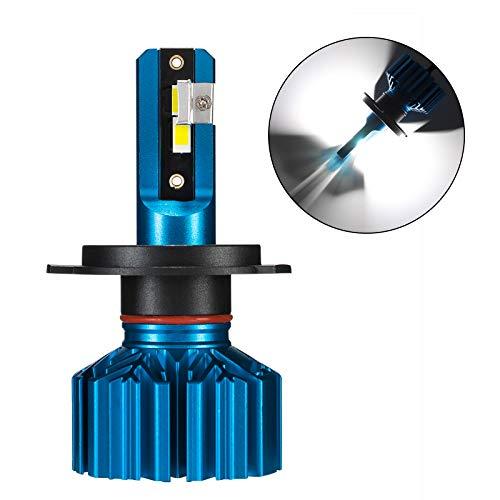 NOVSIGHT LED Koplamp Lampen 60W (30W X2) 10000LM 6000K B2 Koper Substraat Auto Vervangingslampen van Halogeen en Xenon Kit 2 Lampen H4 Motorbike Bulb (1PC)