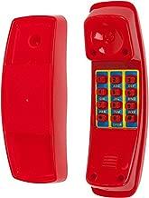 Swing Set Stuff Telephone with SSS Logo Sticker, Red