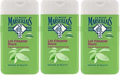 Le Petit Marseillais duschcreme extra-Gentle Milch Mandel 250ml 3er-Pack