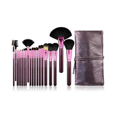 TYWZJ Makeup Brush 20 Makeup Set Pinsel Anfänger Makeup Tools Komplettes Set mit PU...