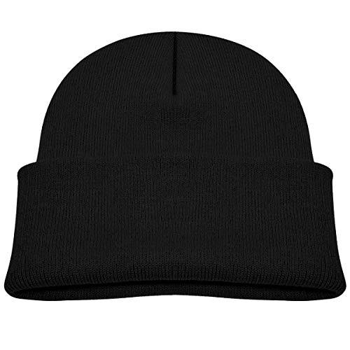 Daibing Bonnet tricoté pour enfant Inscription Eat Sleep Game Repeat - Noir - taille unique