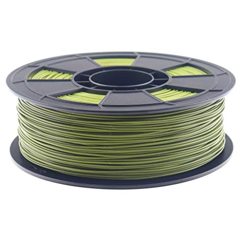 3D Filament PLA 1,75mm 1kg netto in verschiedenen Farben (Militär Grün)