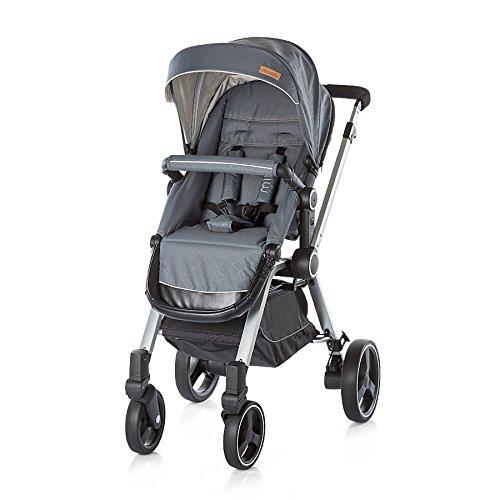 Chipolino Baby Kinderwagen und Babyschale Mika, Beige