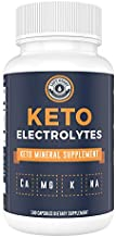 Keto Electrolyte Supplement (180 Capsules). Electrolyte Pills for Ketogenic Diet. Magnesium, Potassium, Sodium, Calcium   Electrolytes Keto Tablets for Rehydration - Left Coast Performance