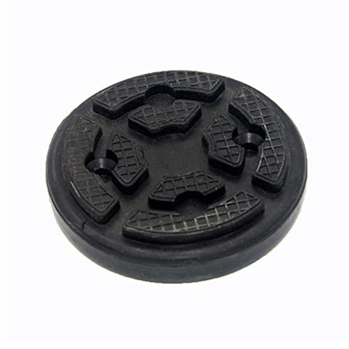 ZCJUX Protector de riel de la herramienta de la superficie de la superficie antideslizante de la almohadilla negra del goma, herramienta de almohadilla lateral de soldadura de elevación de coche de al