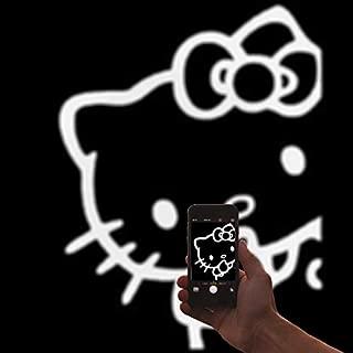 Visual Design Concepts, Inc. | Hello Kitty Peeking White Vinyl Car/Laptop/Window/Wall Decal