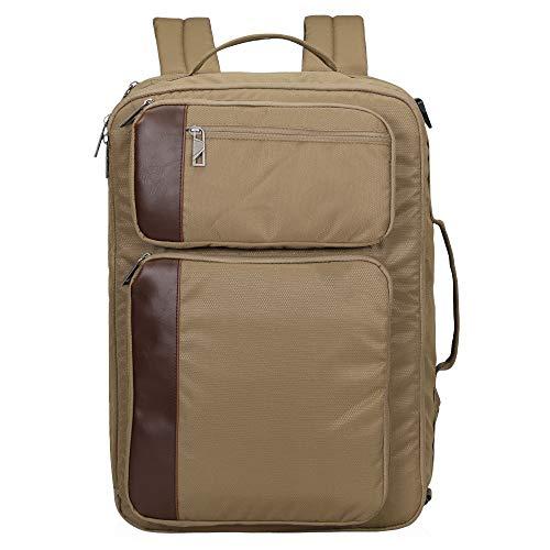 Travel Max 30L Flight Approved Backpack, 13.3 Inch Laptop Backpack Briefcase Shoulder Messenger Bag (Brown)