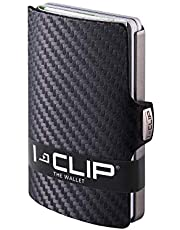 I-CLIP ® Geldbörse Carbon-Optik, Mettalic-Grey (In 2 Varianten Erhältlich)