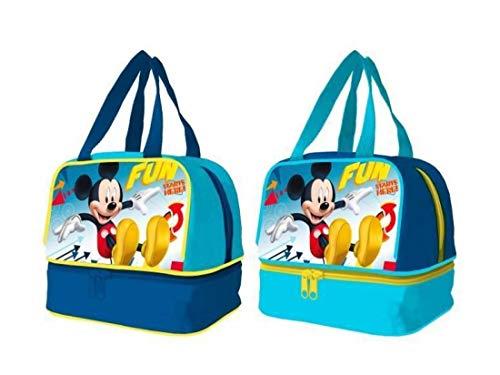 Bolsa portamerienda Mickey Disney Fun Starts bolsillo inferior surtido