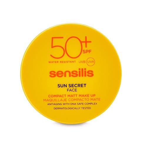 Sensilis Sun Secret Gesicht Kompakt Matt Make Up 01 Natural 10g
