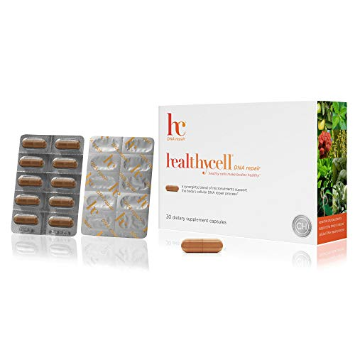 Healthycell DNA Repair Supplement with AC-11 - Protects Cells with Antioxidants - Cell Repair with Amazon Uncaria tomenstoa DNA Repair Extract - Stem Cell Supplement - Anti Aging - Non-GMO - Vegan