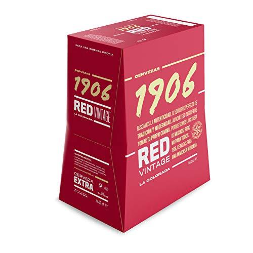 1906 Red Vintage Cerveza - Paquete de 6 botellas x 330 ml - Total: 1980 ml