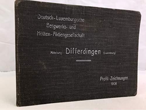 Deutsch-Luxemburgische Bergwerks- und Hütten-Aktiengesellschaft, Katalog 1908, Abteilung: Differdingen (Luxemburg).