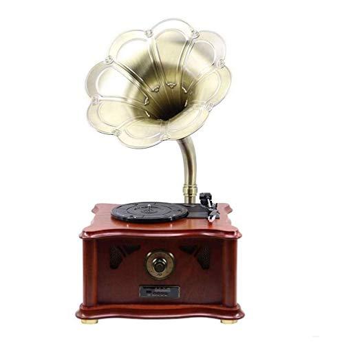 Why Choose ALIZJJ Vintage Record Player Inheritance Vintage Classic Home Decoration Retro Antique Gr...