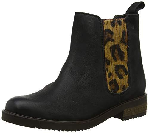 Hush Puppies Damen Stella Chelsea Boots, Schwarz (Black Black), 41 EU