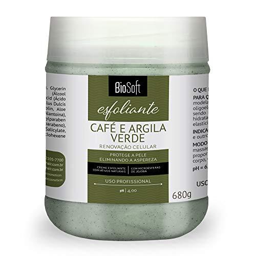 Creme Massagem Esfoliante Corporal Café e Argila Verde,