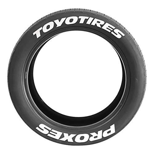 Wenhe Pegatina para neumáticos de coche, con logotipo 3D, personalizable, para rueda de coche, universal, para decoración