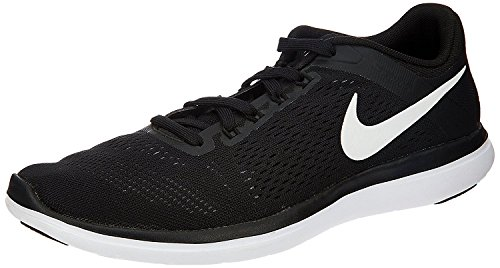 Nike Mens Flex 2016 RN Running Shoe Cool Grey/Black/White 12