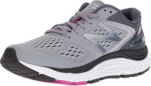 New Balance Women's 840 V4 Running Shoe, Cyclone/Poisonberry, 11 N US