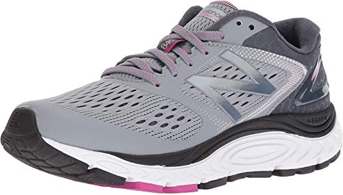 New Balance Women's 840 V4 Running Shoe, Light Grey, 8 D US 1