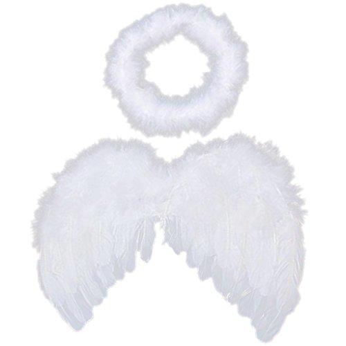 6-18 ailes d'ange cupidon mo plumes de fées accessoires photo bébé auréole gratuit