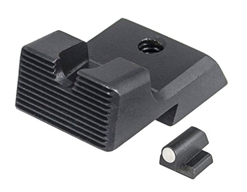 Learn More About S & W 1911 - White Dot Front/Serrated Rear Sight Set - U Notch .325 X .125